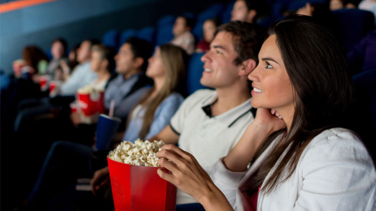 Watch a movie at the Dendy Palace cinema