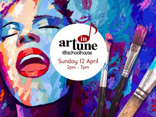 Art in Tune at Schoolhouse Brighton