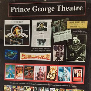 The site of the Prince George Theatre