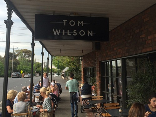 Tom Wilson cafe in Brighton
