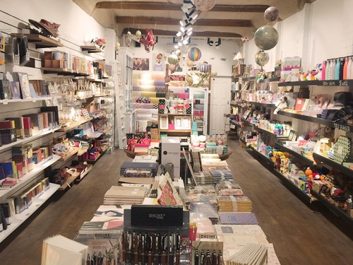 Handworks Nouveau Paperie in store.