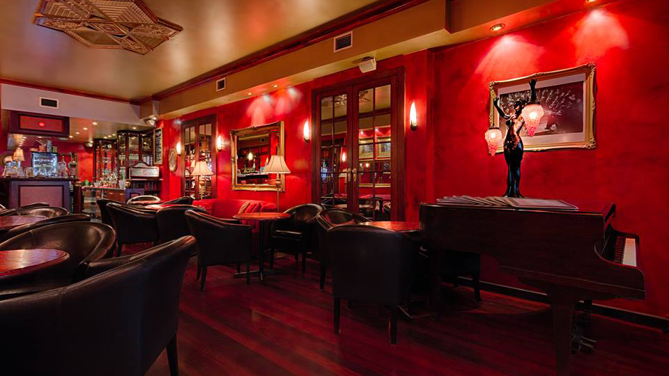 Pera offers an intimate atmosphere to enjoy a drink.