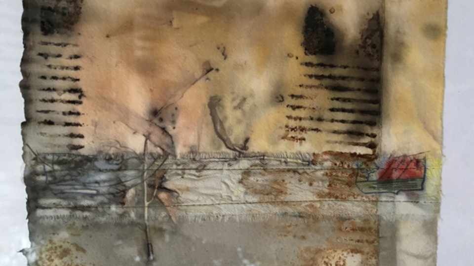 Create mixed media with Jo Roszkowski