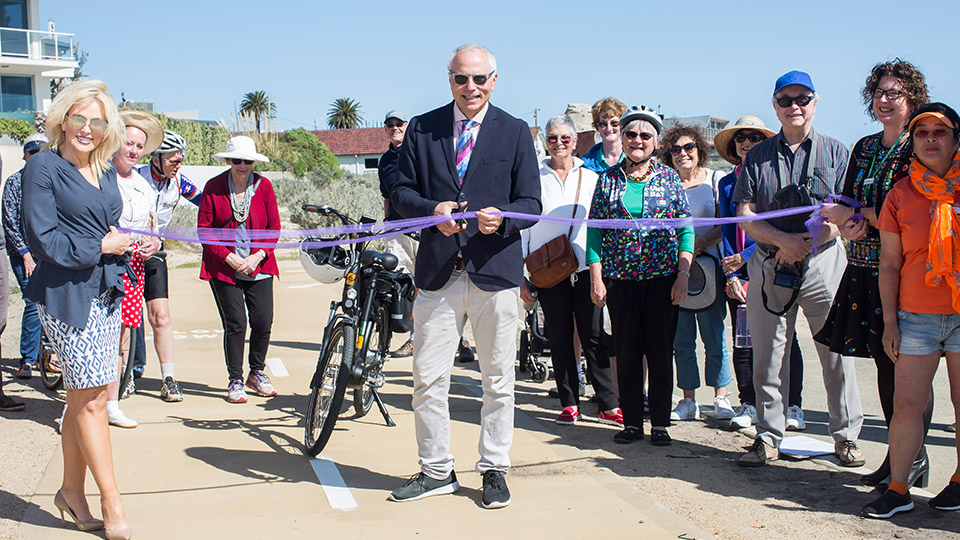 New section of Bay Trail opens in Brighton